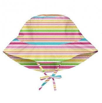 Солнцезащитная панамка I Play, Light Pink Multistripe 747161-2303