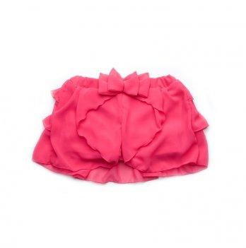 Юбка-шорты Модный карапуз, малиновая 03-00661