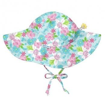 Солнцезащитная панамка I Play, Light Aqua Paradise Flower 787160-6300