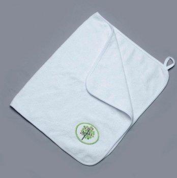 Полотенце для рук махровое Модный карапуз, белое 03-00486