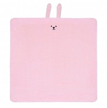 Детский плед ТМ Sasha Зайчик Розовый 116/5 80х80 см