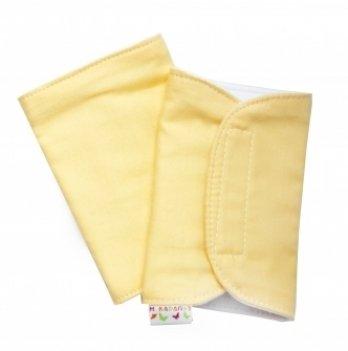 Накладки для сосания гигиенические Модный карапуз, желтые 03-00370