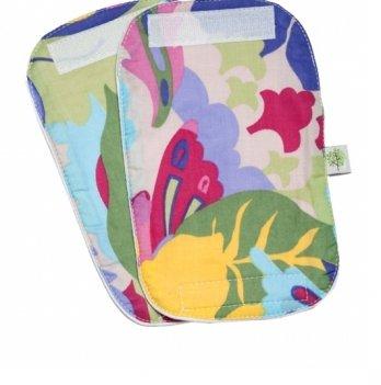 Накладки для сосания гигиенические Модный карапуз, цветочная геометрия 03-00370