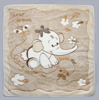 Одеяло детское Модный карапуз, бежевое