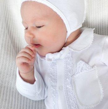 Комплект на выписку для новорожденных Модный карапуз, белый 03-00628