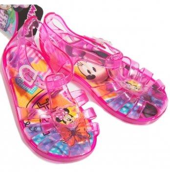 Босоножки-мыльницы Disney Минни Маус (Minnie), розовые