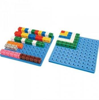 Набор для обучения Gigo Доска для набора «Занимательные кубики»