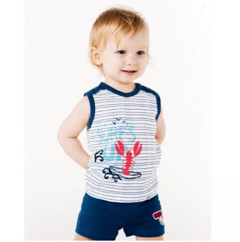 Шорты для мальчика Smil от 6 до 18 месяцев синие