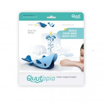 Игрушка для ванной Quut 3D Морские киты 171065
