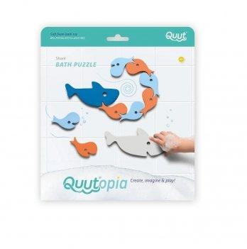 Игрушка для ванной Quut Пазл-головоломка Акулы 171041