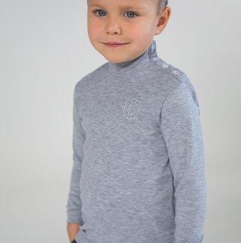 Гольф для мальчика Модный карапуз, серый 03-00593