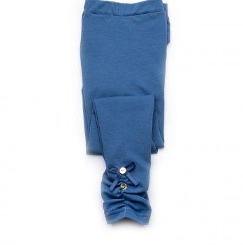 Детские лосины-легинсы для девочек Модный карапуз, светло-синие 03-00519
