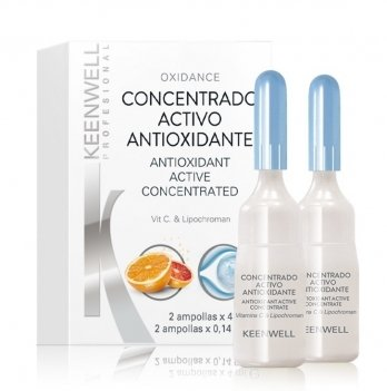 Оксидантная сыворотка для сияния кожи Keenwell, Biological Concentrated, 2 ампулы по 4 мл