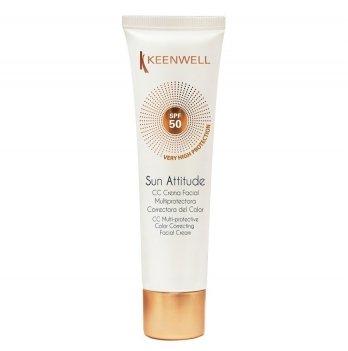 Солнцезащитный крем Keenwell, мультиактивный, SPF 50