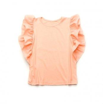 Топ для девочки Модный карапуз, персиковый 03-00662