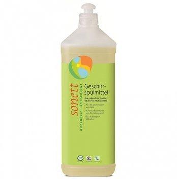Органическое средство для ручного мытья посуды с эфирным маслом лимонника Sonett. Концентрат. 1 л