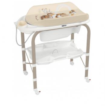 Пеленальный столик CAM Cambio, с ванночкой, бежевый