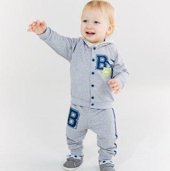 Комплект куртка и брюки для мальчика Smil от 6 до 18 месяцев
