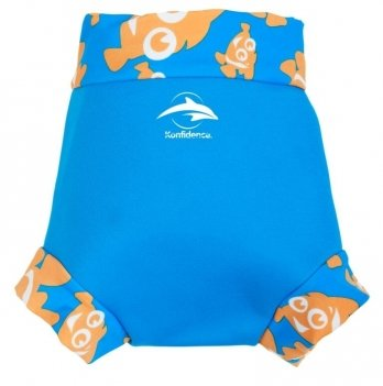 Трусики для плавания Konfidence NeoNappy, Cyan/ Clownfish NN141