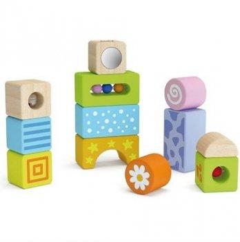 Набор строительных блоков Viga Toys,