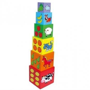 Набор кубиков Viga Toys,