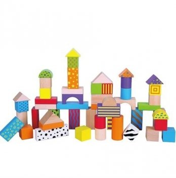 Набор кубиков Viga Toys, 50 шт. 59695