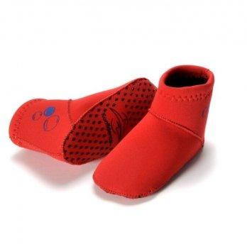 Носки для бассейна и пляжа Konfidence Paddlers, Red NS06