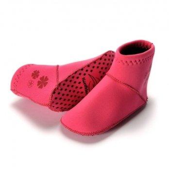 Носки для бассейна и пляжа Konfidence Paddlers, Fuchsia Pink NS02