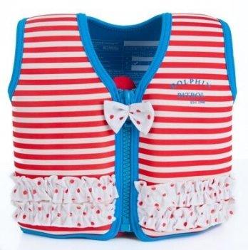 Плавательный жилет Konfidence Original Jacket, Red Stripe KJ16-C