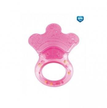 Погремушка с прорезывателем Canpol babies Лапка розовый