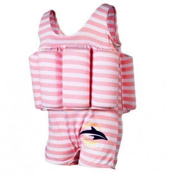 Купальник-поплавок Konfidence Floatsuits, Pink Stripe FS02