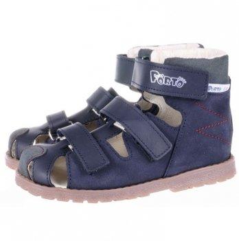 Босоножки ортопедические кожаные закрытый носок Ortho Cyborg 1188-70
