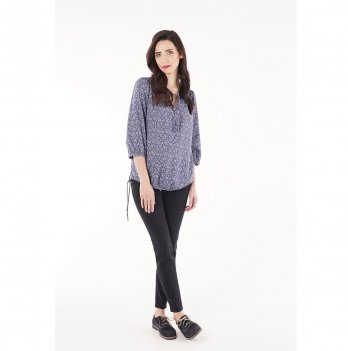 Блуза для беременных To Be Синий 704130