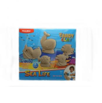 Кинетический песок Paulinda 140016 Sea life 1