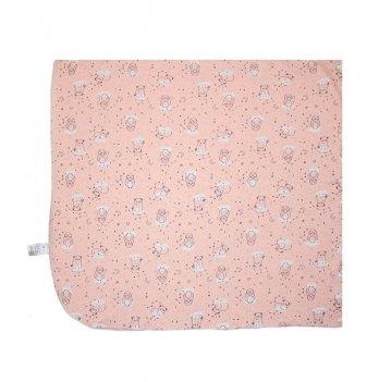 Пеленка детская интерлок Smil Созвездия Розовый 119787