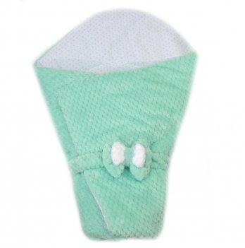 Демисезонный конверт-одеяло PaMaYa Ментоловый 12-11-1 90х90 см