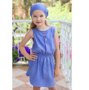 Платье летнее для девочки Модный карапуз