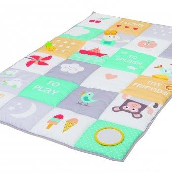 Развивающий большой коврик Мои увлечения, Taf Toys, 100х150 см