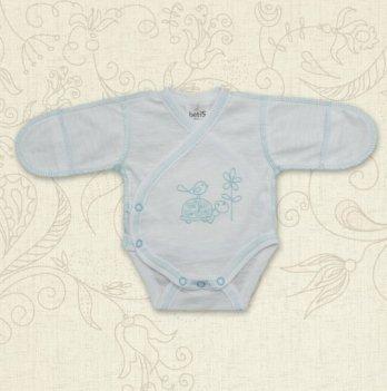 Боди для маловесных малышей, Бетис Черепашка, с вышивкой, бирюзовый