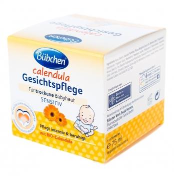 Крем для лица детский Bubchen Календула 75 мл