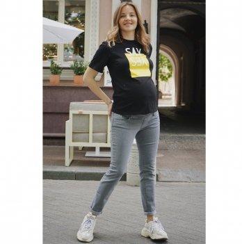 Джинсы для беременных To Be Светло-серый 1225460-7