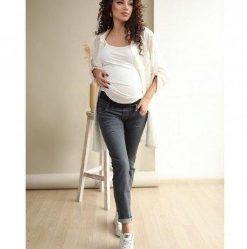 Джинсы для беременных To Be Серый 1225460-7