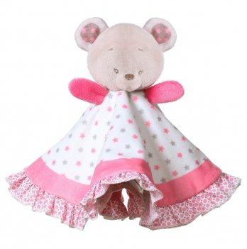 Игрушка-обнимашка-одеяльце BabyOno 1235 Медвежонок Сьюзи