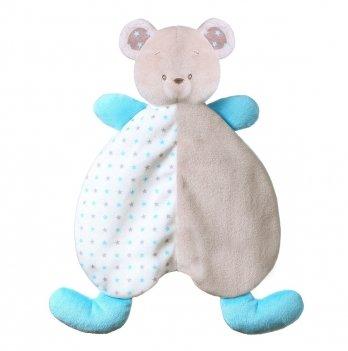 Игрушка-обнимашка-одеяльце BabyOno 1236 Медвежонок Тони