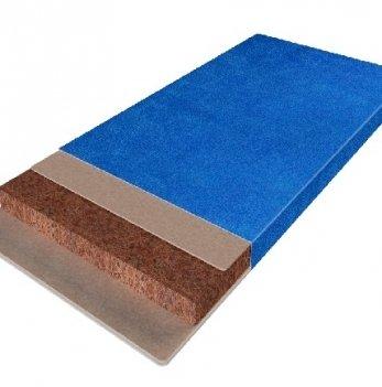 Матрас в детскую кроватку Herbalis KIDS Cocos Comfort Blue 63 х 125 см