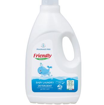 Жидкий гель для стирки Friendly Organic, Baby Laundry Det. Perfume Free, без запаха, 2000 мл, 40 стирок