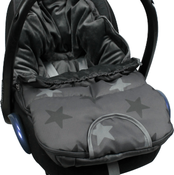 Конверт (футмуфта) на коляску/автокресло, Original Dooky, Grey Stars
