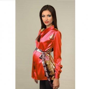 Блуза для беременных и кормящих мам Dianora коралловая 1276 0729