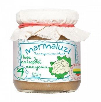 Пюре овощное Marmaluzi из цветной капусты 125 г
