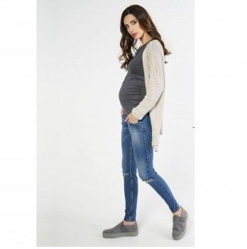 Джинсы для беременных To Be Синий 1293691-7